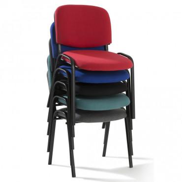 Chaise visiteur PORTO | Chaise de bureau | Negostock, chaise réunion