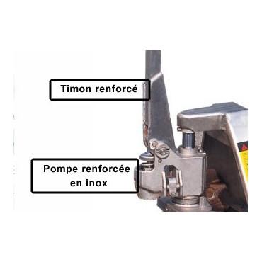 Transpalette inox pour les milieux corrosifs avec Negostock