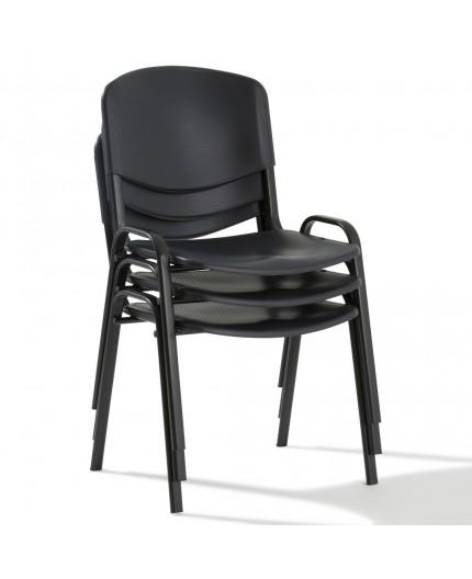 Chaise visiteur porto en polypropylène, chaise réunion