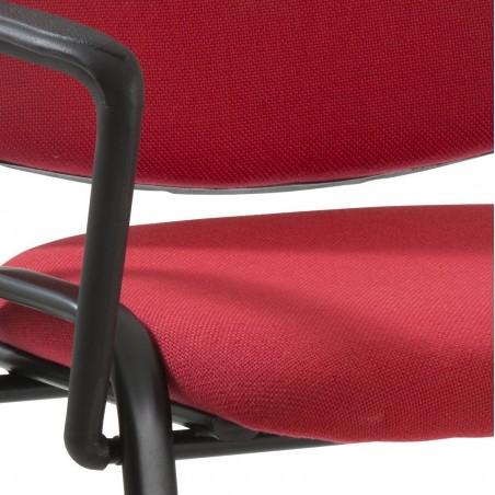 Chaise de conférence Porto avec accoudoirs