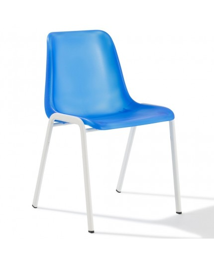 Chaise coque translucide for Chaise coque