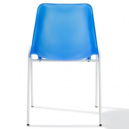 Chaise coque translucide Peps