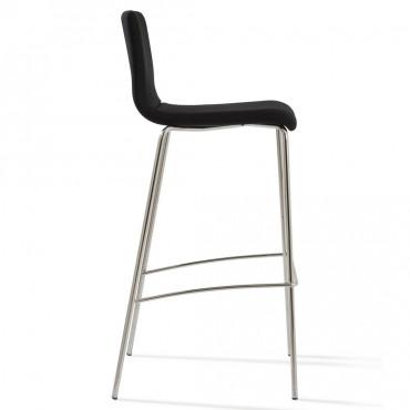 tabouret haut avec dossier louise mobilier de bureau negostock. Black Bedroom Furniture Sets. Home Design Ideas