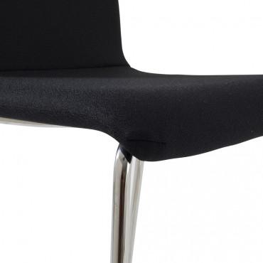 tabouret haut avec dossier louise mobilier de bureau. Black Bedroom Furniture Sets. Home Design Ideas