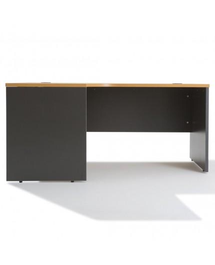 Bureau d'angle compact - gamme panneau - Negostock