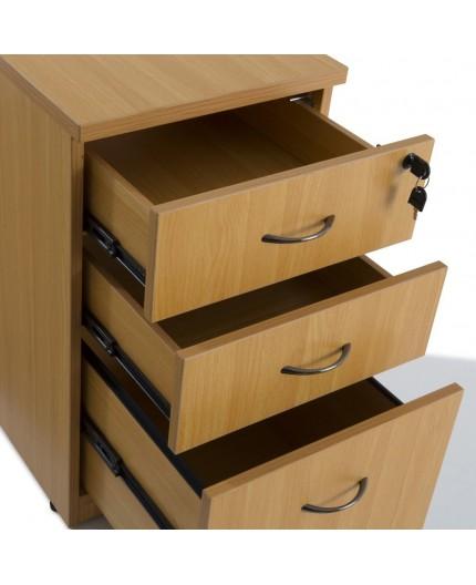 bureau en bois et caisson bureau gamme panneau negostock. Black Bedroom Furniture Sets. Home Design Ideas