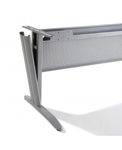 bureau d 39 angle electra avec caisson m tallique 80 cm negostock. Black Bedroom Furniture Sets. Home Design Ideas
