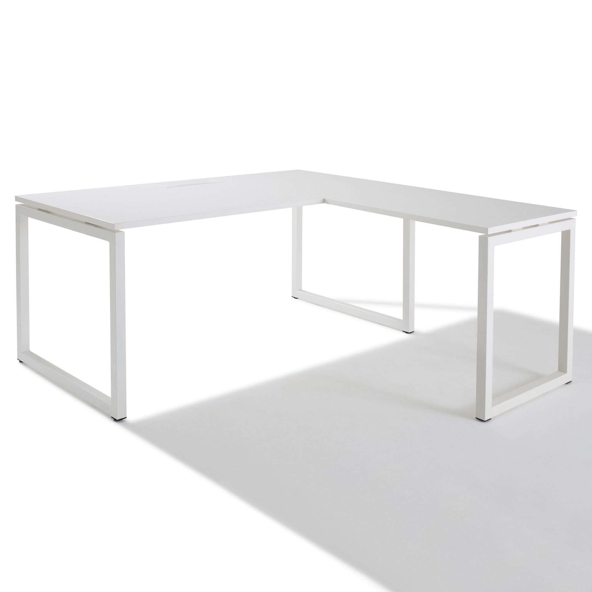 Idée Bureau D Angle bureau d'angle avec retour accroché - gamme cube- gosto