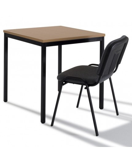 Modulable Negostock 70x70 Carré De Cm Réunion Table kPuXiZ