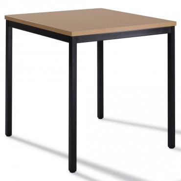 Table modulable carré 70x70 cm - Negostock.com