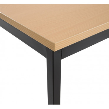 Table modulable carré 70x70 cm - Negostock.com