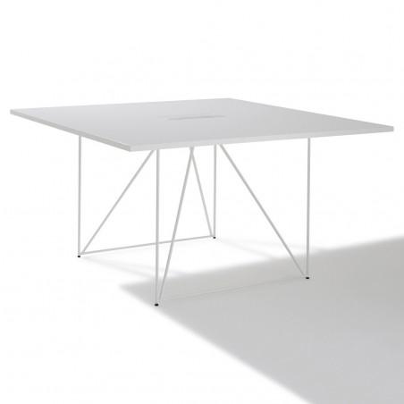 Table de reunion carrée Archi 4 à 6 personnes