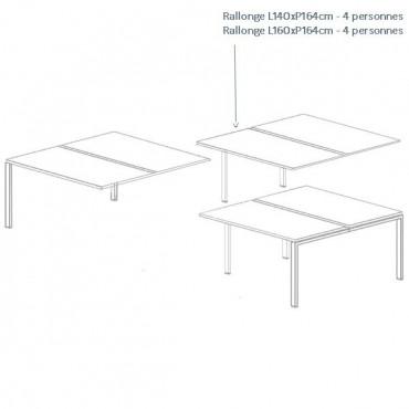 Table de réunion - 14 personnes- negostock
