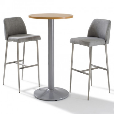 Gueridon, table de bar, mange debout entreprise - Negostock