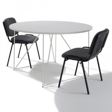 Table de réunion ronde Archi 4 personnes