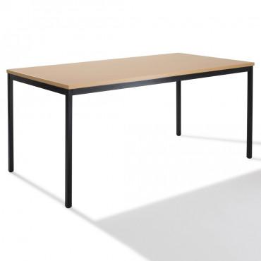 Table de bureau rectangulaire  L160xP80cm - Negostock