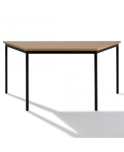 Table de bureau modulaire trapézoïdale 160x80x80cm - Negostock