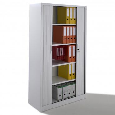 Armoire à rideaux - monobloc - H195xL120xP46 cm