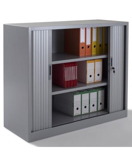 armoire rideaux mi haute hauteur 1 m tre 35 largeur 1 m tre 20 et profondeur 46cm. Black Bedroom Furniture Sets. Home Design Ideas