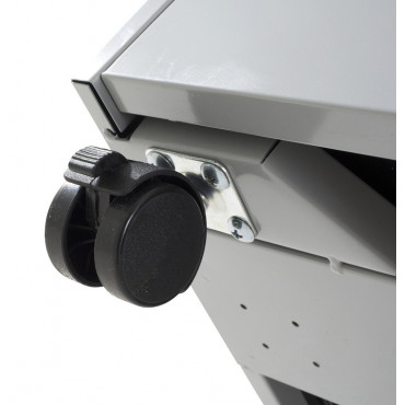 Caisson métallique, 2T+1DS, Metta - caissons bureau - Negostock