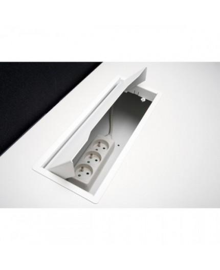Gamme Cube-Bench, pôle de 3 bureaux - Negostock