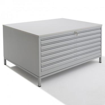 Meuble pour plans A.1 - 6 tiroirs