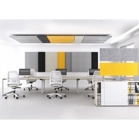 Panneaux acoustiques de plafond verticaux