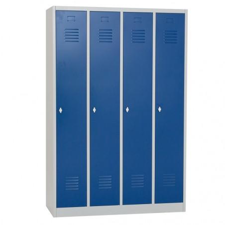 Vestiaire propre - monobloc - 4 cases