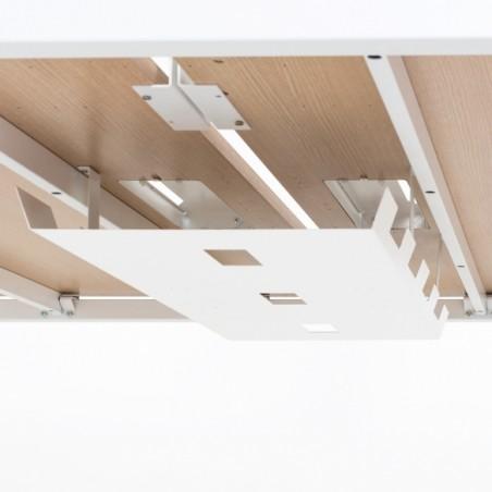 Bench de 6 bureaux pour open space- Gamme Sierra