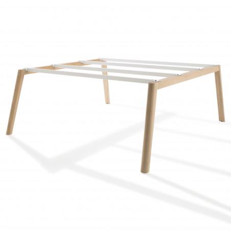 Bench de 2 Bureaux pour open space - Gamme Cosy Wood