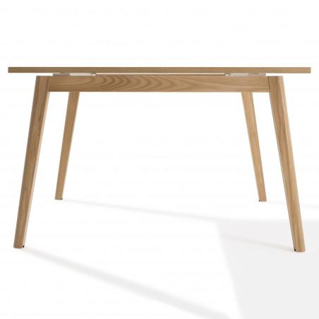 Table de réunion carré Cosy Wood 4 personnes