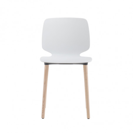 Chaise coque 4 pieds Babila 2750