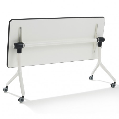 Table pliante bureau sur roulette Nomade Rabattable
