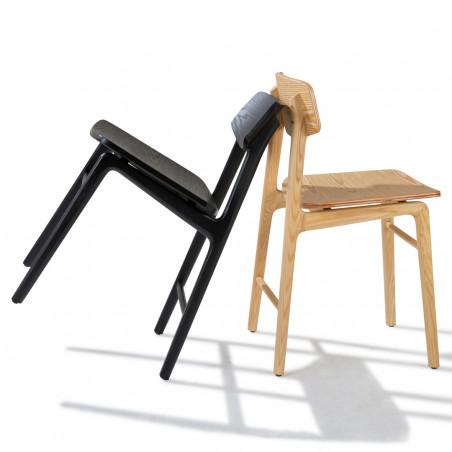Chaise 4 pieds en bois Boni