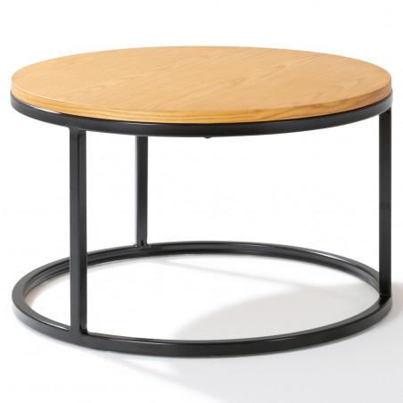 Table basse ronde gigogne CHOC et CHIC