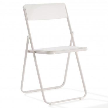 Chaise pliante accrochable empilable Plyos