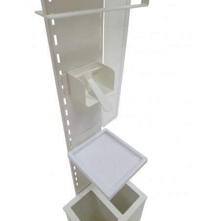 Station Hygiénique de désinfection avec signalétique