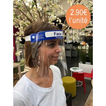 Lot de 10 Visières de protection pour le visage Flex soit 5.90€ l'unité