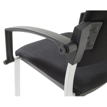 Chaise accrochable visiteur 4 pieds Billy