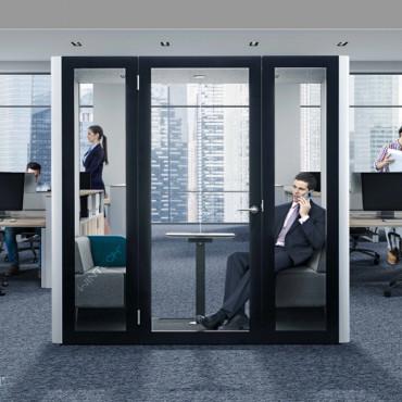 Box Duo acoustique Bureau- Gosto Box 2 à 4 personnes