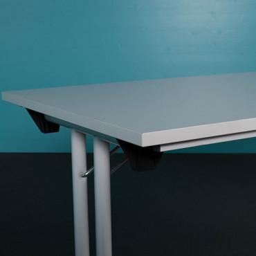 Table modulable pliante L140xP70 - Negostock.com