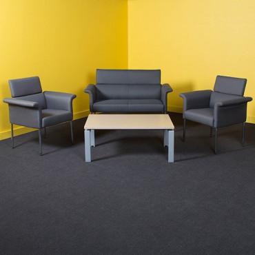 Table basse d'accueil pour entreprise, espace détente - Negostock