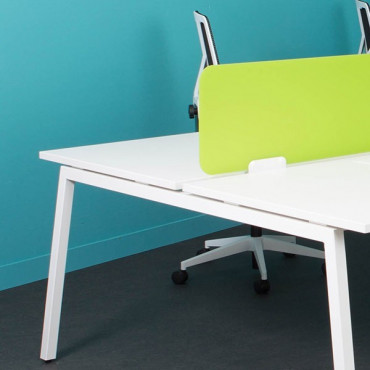 Bench de 4 bureaux - gamme Actea