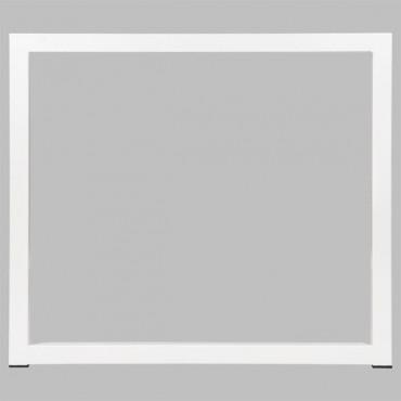 Open space - Pôle de 2 bureaux - L.160xP.164cm - cloison tissu - Cube