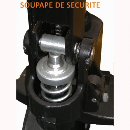 Transpalette manuel, 2500kg, fourches de 800mm