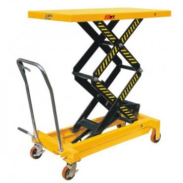 Table élévatrice double ciseaux - capacité : 800 kg - Negostock