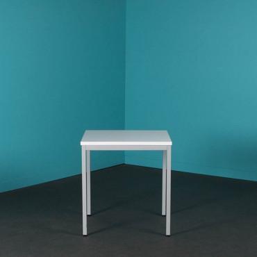 Table de bureau carré modulable 70x70 cm