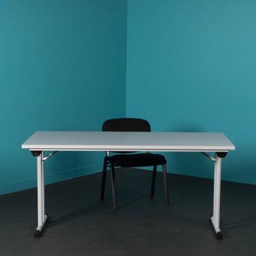 Table modulaire Pliante L180xP80cm - Table polyvalente - Negostock