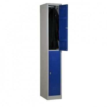 vestiaire bi place metallique, vestiaires bi place pour entreprise avec Negostock