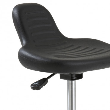 Siège assis debout Poly-Up, Chaise de caisse technique.